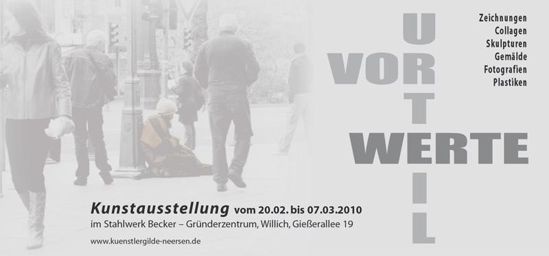 Webkarte Ausstellung Werte 2010