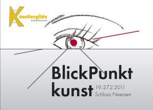 Einladung Blickpunkt Kunst 2011
