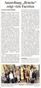 Presseartikel Brüche 2012 RP