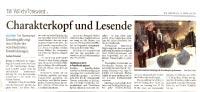 Presseartikel 2011 WZ