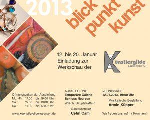 Einladung zur Werkschau 2013