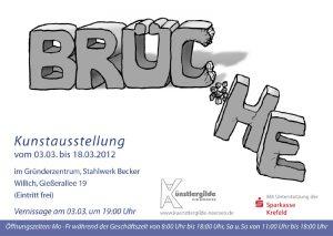 """Einladung """"Brüche"""" 2012"""