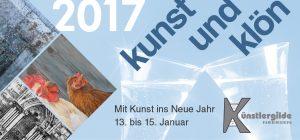 """Einladung zum Neujahrsempfang """"Kunst & Klön"""" 2017"""