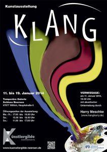 """Einladung zur Ausstellung """"Klang"""" - 2014"""