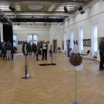 Ausstellung Strukturen, Vernissage (Foto: Sybille Buchwald)